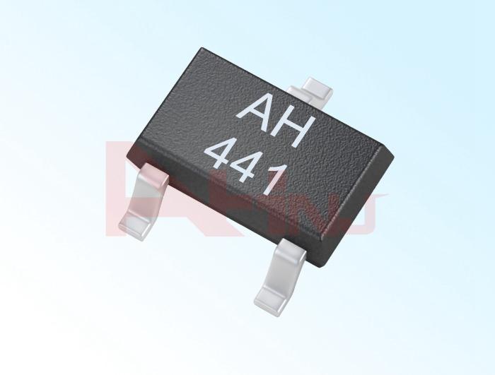 حساس هول الخطي الأحادي القطب AH441