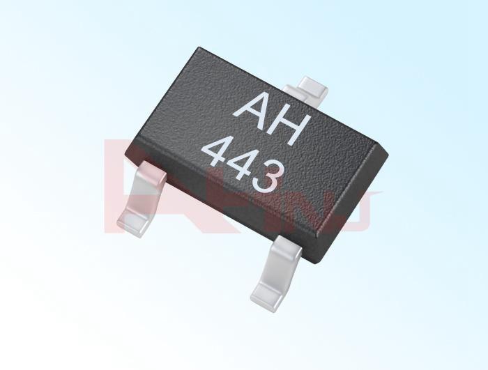 حساس هول الأحادي القطب AH443