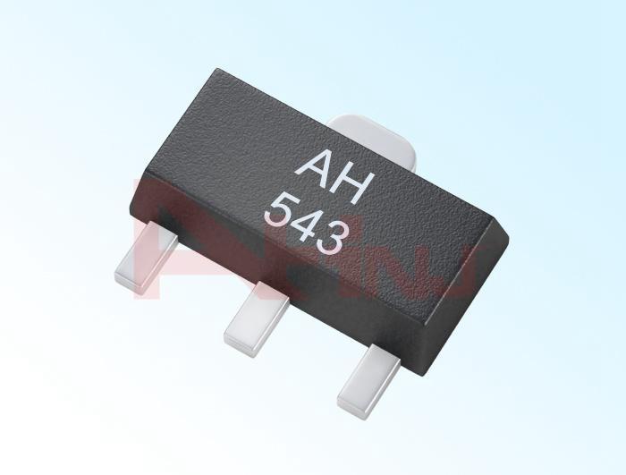 حساس هول الخطي الأحادي القطب AH543