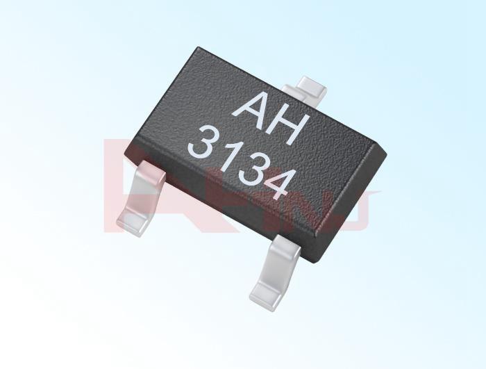 حساس هول الخطي الأحادي القطب AH3134
